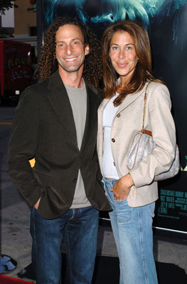 Lyndie Benson and Kenny G at an event for House of Wax (2005)