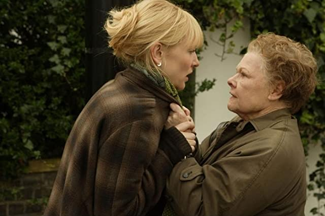 Cate Blanchett and Judi Dench in Notes on a Scandal (2006)