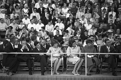 Eunice Kennedy Shriver and Patricia Kennedy Lawford at the Democratic National Convention