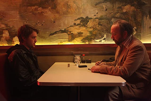 Paul Giamatti and Chase Williamson in John Dies at the End (2012)