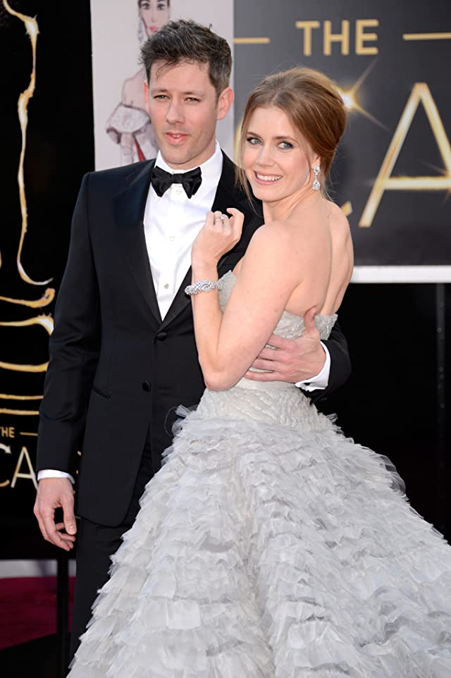 Amy Adams and Darren Le Gallo at event of The 85th Annual Academy Awards