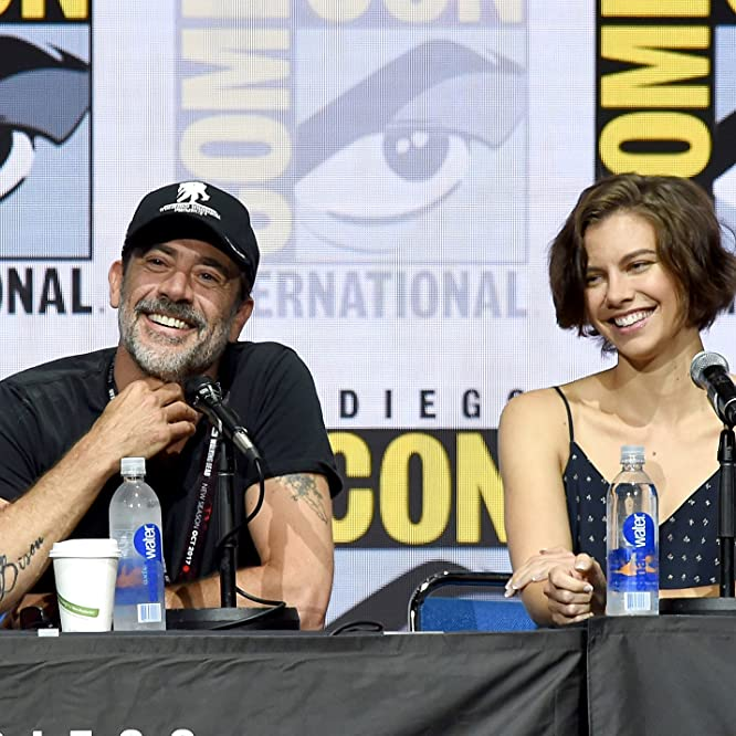 Jeffrey Dean Morgan and Lauren Cohan at an event for The Walking Dead (2010)