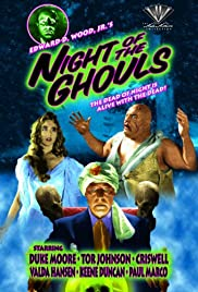 Night of the Ghouls (1959) Poster - Movie Forum, Cast, Reviews