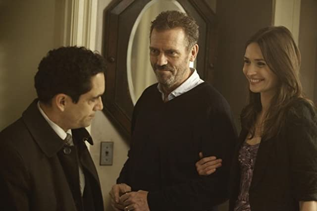 Hugh Laurie, José Zúñiga, and Karolina Wydra in House M.D. (2004)