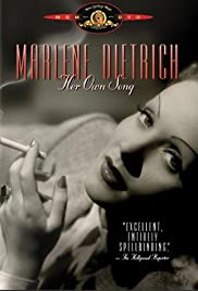 Marlene Dietrich: Her Own Song (2001) Poster - Movie Forum, Cast, Reviews
