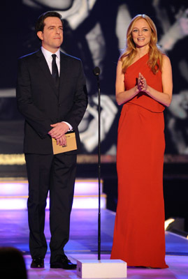 Heather Graham and Ed Helms at 15th Annual Critics' Choice Movie Awards (2010)