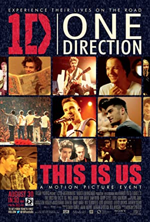 Poster One Direction: This Is Us