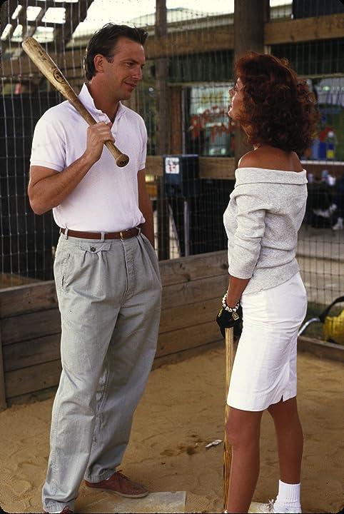 Kevin Costner and Susan Sarandon in Bull Durham (1988)