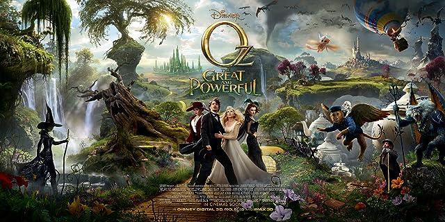 Rachel Weisz, Mila Kunis, Zach Braff, Tony Cox, James Franco, Michelle Williams, and Joey King in Oz the Great and Powerful (2013)