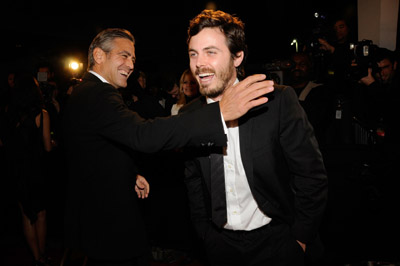 George Clooney and Casey Affleck