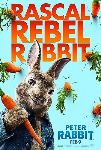 Poster Film Peter Rabbit