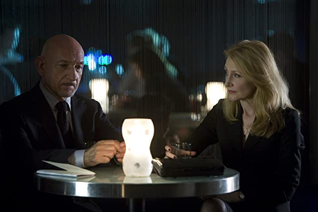 Ben Kingsley and Patricia Clarkson in Elegy (2008)