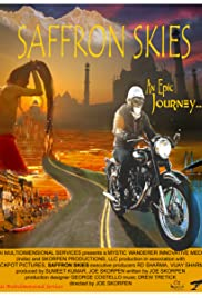 Saffron Skies Poster