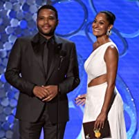 Anthony Anderson and Tracee Ellis Ross at an event for The 68th Primetime Emmy Awards (2016)