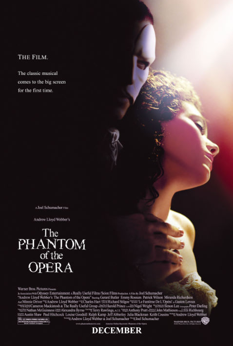 Emmy Rossum and Gerard Butler in The Phantom of the Opera (2004)