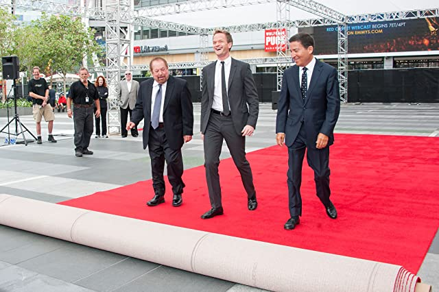 Neil Patrick Harris, Ken Ehrlich, and Bruce Rosenblum at an event for The 65th Primetime Emmy Awards (2013)