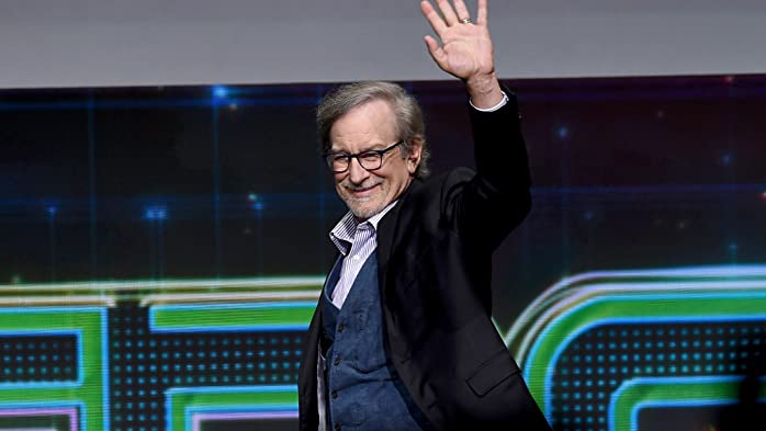 Steven Spielberg at an event for Ready Player One (2018)