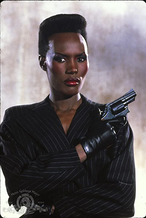 Grace Jones in A View to a Kill (1985)