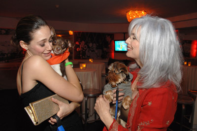 Emmy Rossum and Emmylou Harris