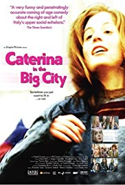 Caterina in the Big City Poster
