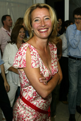 Emma Thompson at an event for Imagining Argentina (2003)