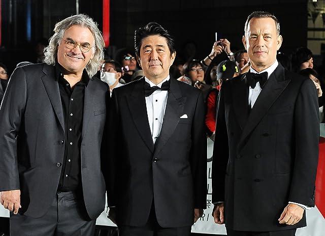 Tom Hanks, Paul Greengrass, and Shinzo Abe
