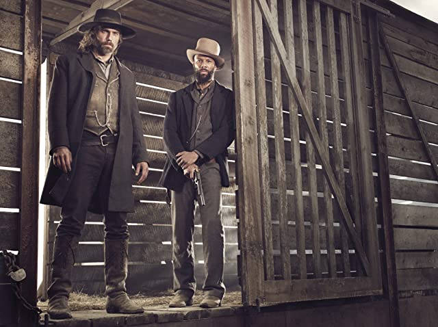Anson Mount and Common in Hell on Wheels (2011)