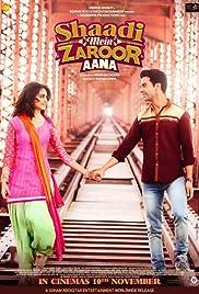 Shaadi Mein Zaroor Aana 2017 Hindi 720p SD x264 [Counter]
