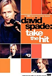 David Spade: Take the Hit (1998) Poster - TV Show Forum, Cast, Reviews