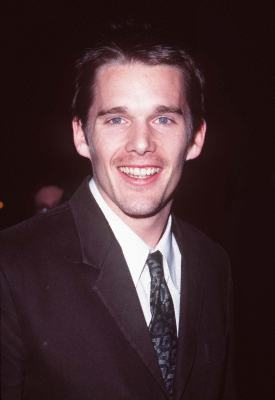 Ethan Hawke at an event for Gattaca (1997)