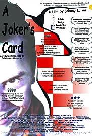 A Joker's Card Poster