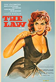 The Law(1959) Poster - Movie Forum, Cast, Reviews