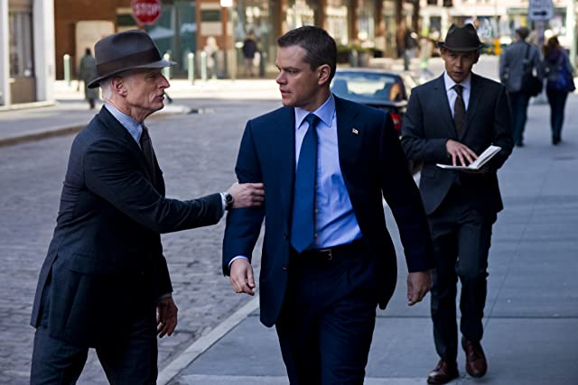 Matt Damon and John Slattery in The Adjustment Bureau (2011)