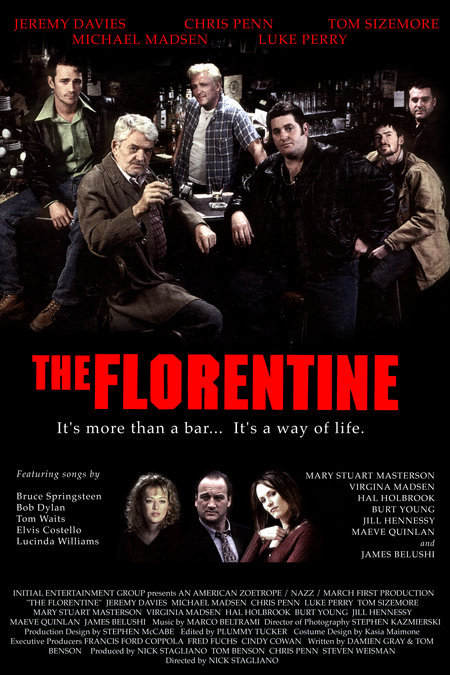 Michael Madsen, Virginia Madsen, Mary Stuart Masterson, Luke Perry, Jim Belushi, Jeremy Davies, Hal Holbrook, Chris Penn, and Tom Sizemore in The Florentine (1999)