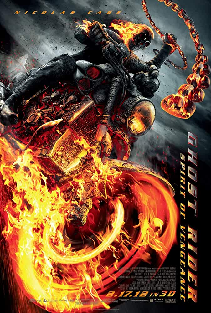 Ghost Rider 2 Spirit of Vengeance 2012 Dual Audio 720p BluRay With ESubs