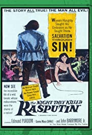 The Night They Killed Rasputin Poster