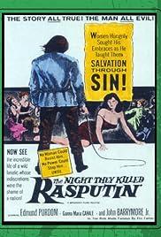 Les nuits de Raspoutine Poster