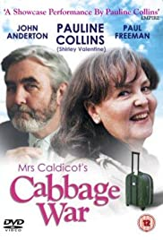 Mrs Caldicot's Cabbage War Poster