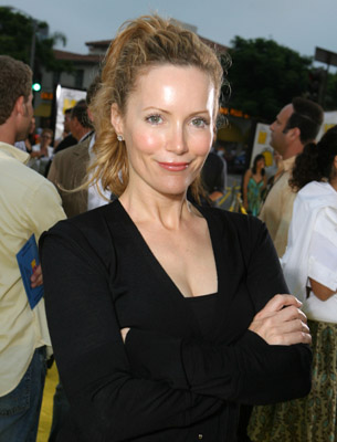Leslie Mann at The Simpsons Movie (2007)