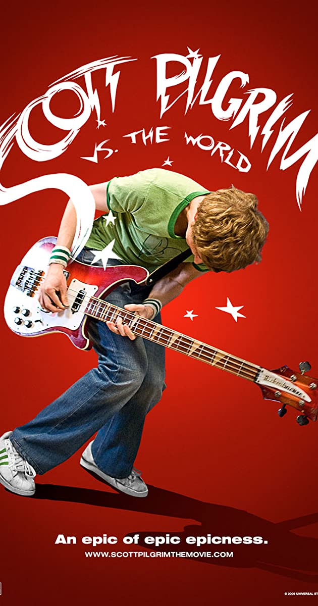 Skotas Pilgrimas prieš pasaulį / Scott Pilgrim vs. the World (2010) Online