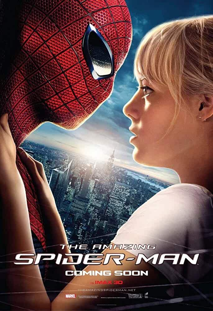 Poster The Amazing Spiderman (2012) Full HD Movie Download Hindi Dubbed