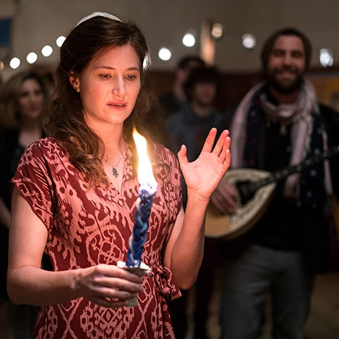 Sally Dworsky, Kathryn Hahn, and Duvid Swirsky in Transparent (2014)
