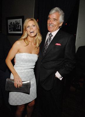 Dennis Farina and Cheryl Hines at The Grand (2007)