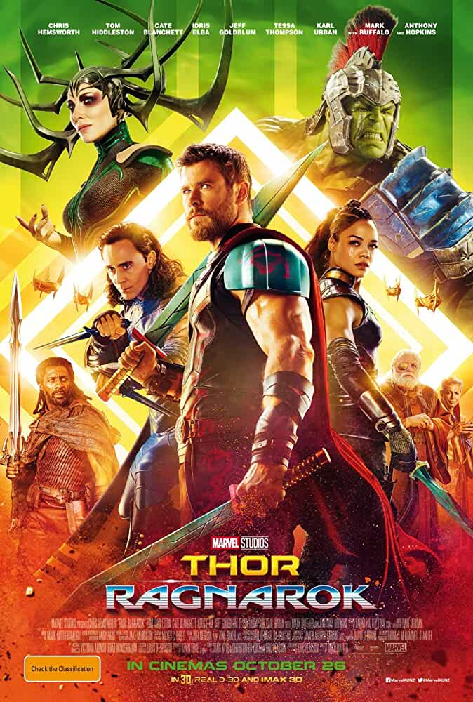 Thor Ragnarok 2017 Hindi Dual Audio 480p Esubs HDRip 300MB