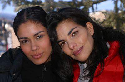 Sarita Choudhury and Daniella Alonso at Rhythm of the Saints (2003)