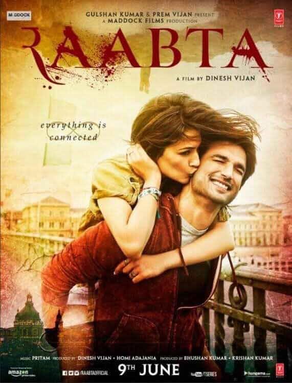 Raabta 2017 Full Bollywood Movie pDVDRip Download 700MB