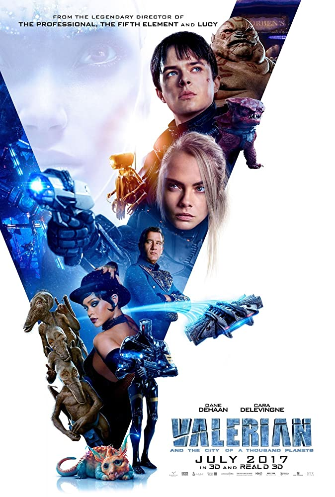 Valerian and the City of a Thousand Planets cartel de la película