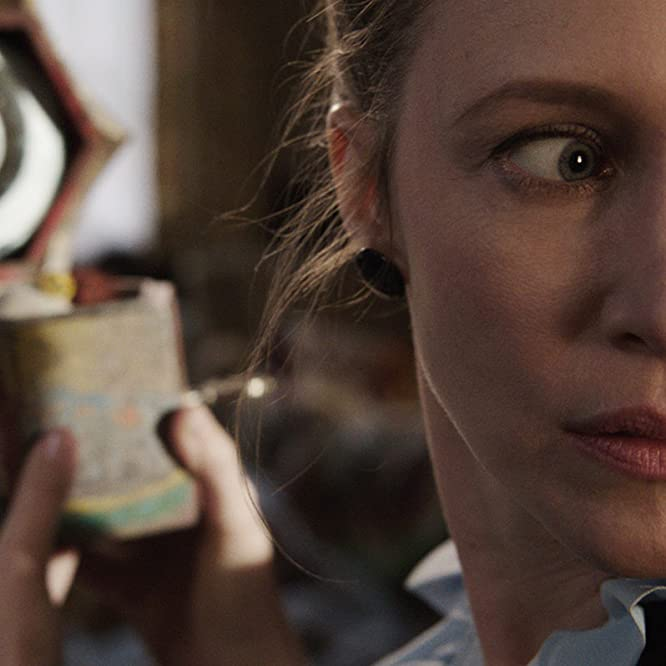 Vera Farmiga and Kyla Deaver in The Conjuring (2013)