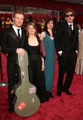 John Carney, Glen Hansard, and Markéta Irglová at an event for The 80th Annual Academy Awards (2008)