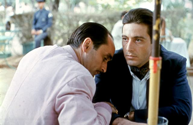 Al Pacino and John Cazale in The Godfather: Part II (1974)